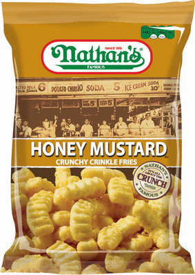 "Nathan's Famous Snacks Awarded ""Best New Product"" By Convenience Store News.  (PRNewsFoto/Inventure Foods, Inc.)"