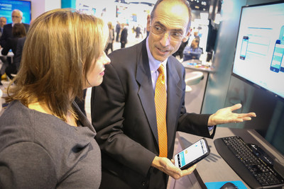 Artificial intelligence and imaging took center stage at RSNA 2016, the world's largest annual gathering of radiologists. Nancy Koenig (General Manager, Merge Healthcare-an IBM Company) and Dr Murray Reicher (Chief Health Officer, Merge Healthcare - an IBM Company) Photo credit: IBM Watson Health