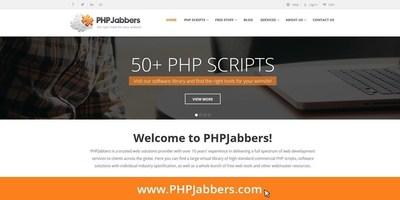 PHPJabbers Unveil Their Renewed Website