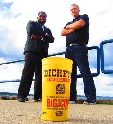 Andre Bushell and Loren Akerman begin their Dickey's Barbecue Pit business with four locations to open in Michigan