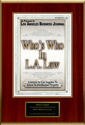 "Mark A. Flagel of Latham & Watkins LLP Selected For ""Who's Who In L.A. Law"".  (PRNewsFoto/American Registry)"