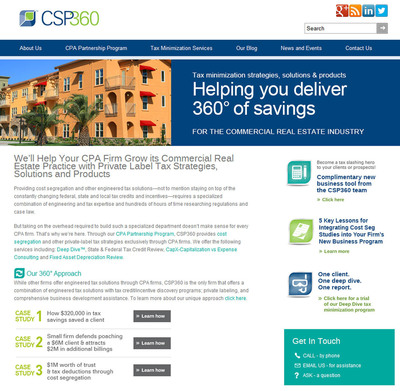 CSP360 website.