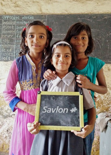 SAVLON CELEBRATES CHILDREN'S DAY (PRNewsFoto/Savlon, ITC)