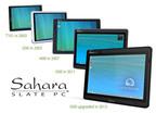 Sahara Slate PC family of Tablets from TabletKiosk since 2003. (PRNewsFoto/TabletKiosk)