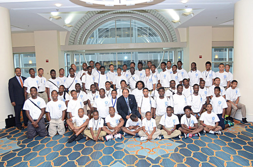 Phi Beta Sigma Fraternity, Inc. Through Its Sigma Beta Clubs Joins President Barack Obama In His