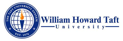 William Howard Taft University Logo.  (PRNewsFoto/William Howard Taft University)