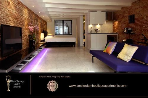 This year's World Luxury Hotel Award for Best Serviced Apartment in Europe was granted to Amsterdam Boutique ...
