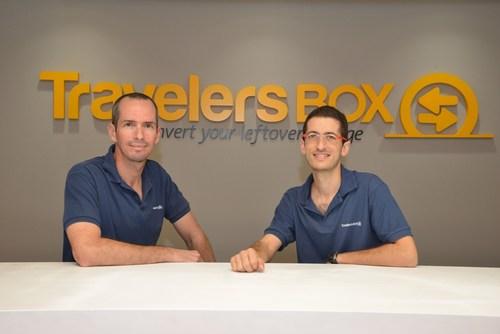 Tomer Zussman and Idan Deshe, TravelersBox co- founders (PRNewsFoto/TravelersBox)