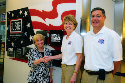 Navy Federal Joins Forces with USO-Metro.  (PRNewsFoto/Navy Federal Credit Union)