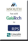 Lincoln International represents MSouth Equity Partners in the sale of GaiaTech, Inc. to RPS Group plc (PRNewsFoto/Lincoln International)