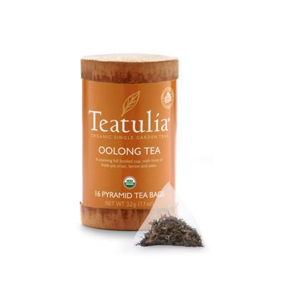 Teatulia Oolong Tea.  (PRNewsFoto/Teatulia Organic Teas)