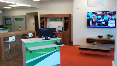 CenturyLink's new retail store is equipped with a small business consultation center.