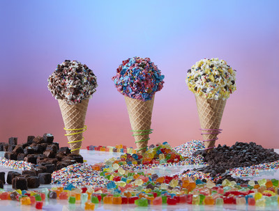 Marble Slab Creamery Introduces Candy Crush Inspired Flavors