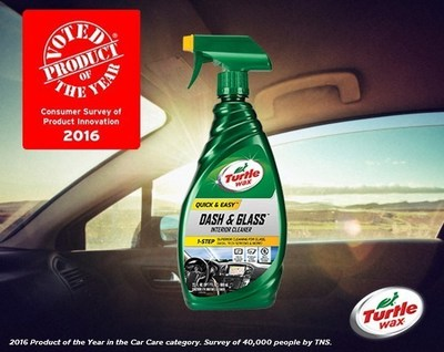 turtle wax quick easy dash glass interior cleaner voted product of the year 2016 in car care. Black Bedroom Furniture Sets. Home Design Ideas