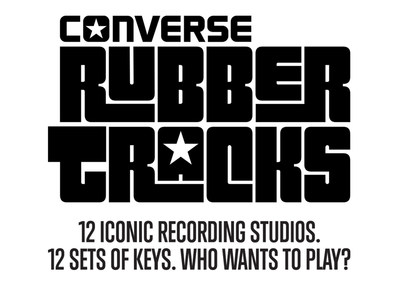 CONVERSE RUBBER TRACKS UNLOCKS THE DOORS TO ICONIC STUDIOS AROUND THE WORLD