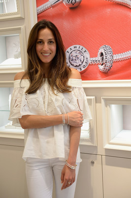 ShopBAZAAR Editor, Alana Quagliariello shared her top picks from PANDORA Jewelry's latest Spring Collection at the grand opening celebration