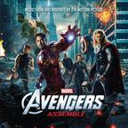 Avengers Assemble on Marvel Music/Hollywood Records.  (PRNewsFoto/Marvel Music/Hollywood Records)