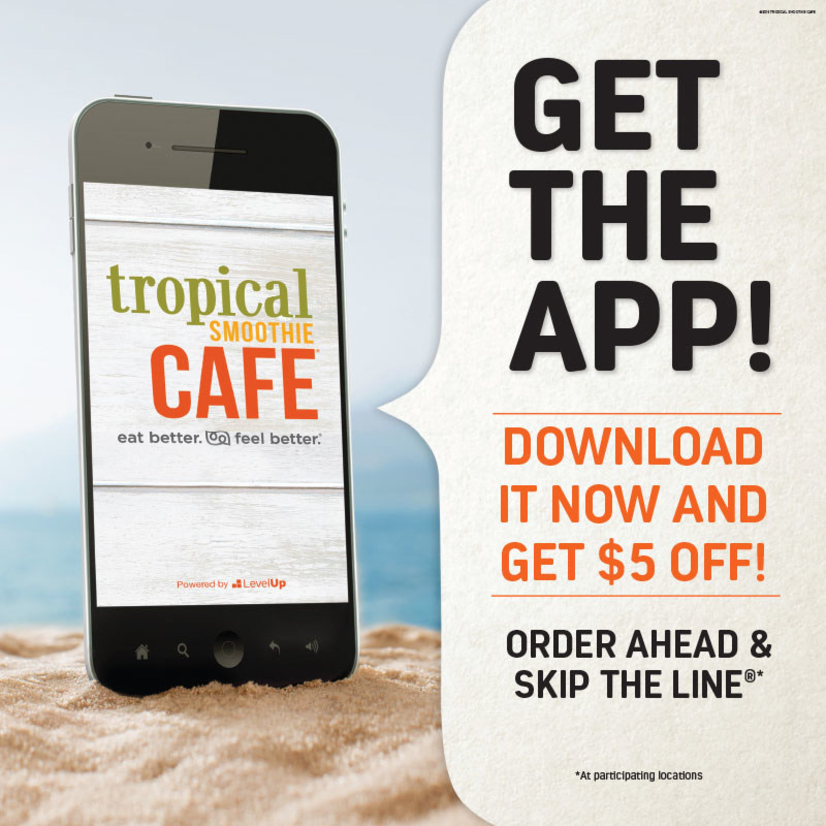 Tropical Smoothie Cafe Releases Latest Loyalty Rewards App.