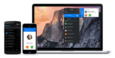 Switch.co -- the first phone system for Google Apps -- works across all your devices (PRNewsFoto/Switch Communications) (PRNewsFoto/Switch Communications)