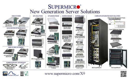 Supermicro® lança mais de 100 soluções de servidor de nova geração para suporte de processadores