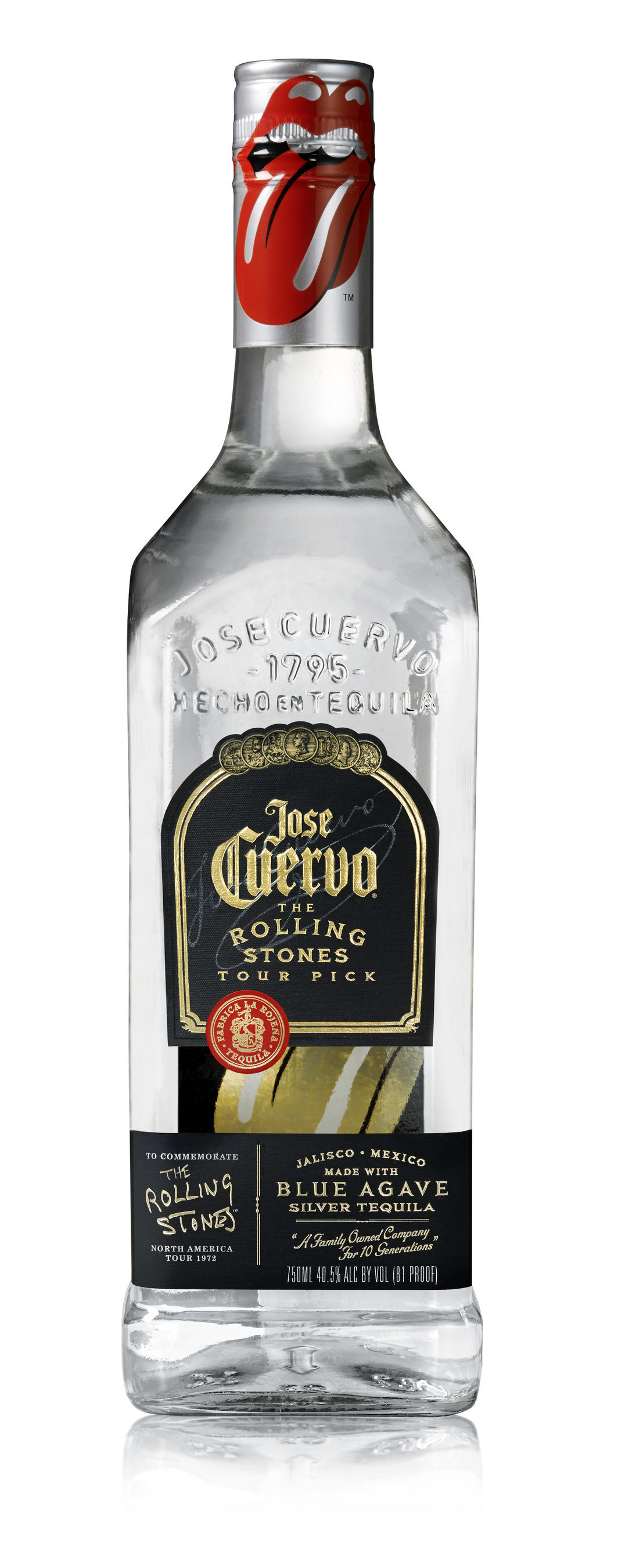 """Jose Cuervo takes L.A. Rock N' Roll fans for a ride on the """"Tequila Sunrise Bus Tour"""" to celebrate the special edition """"The Rolling Stones"""" bottles."""