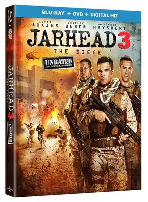 From Universal Pictures Home Entertainment: Jarhead 3: The Siege