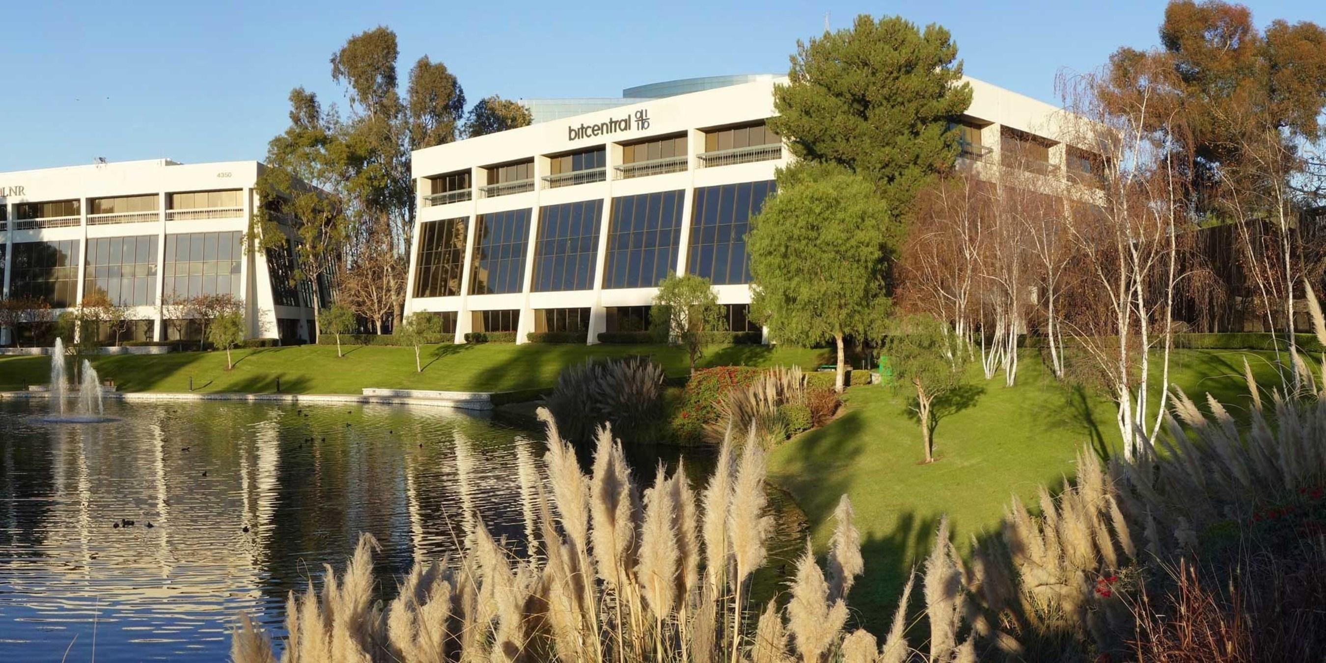 Bitcentral Headquarters, Newport Beach, CA.