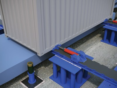 Engineered Rigging's Power Slide Moves Overweight, Oversized Loads in Tight Quarters