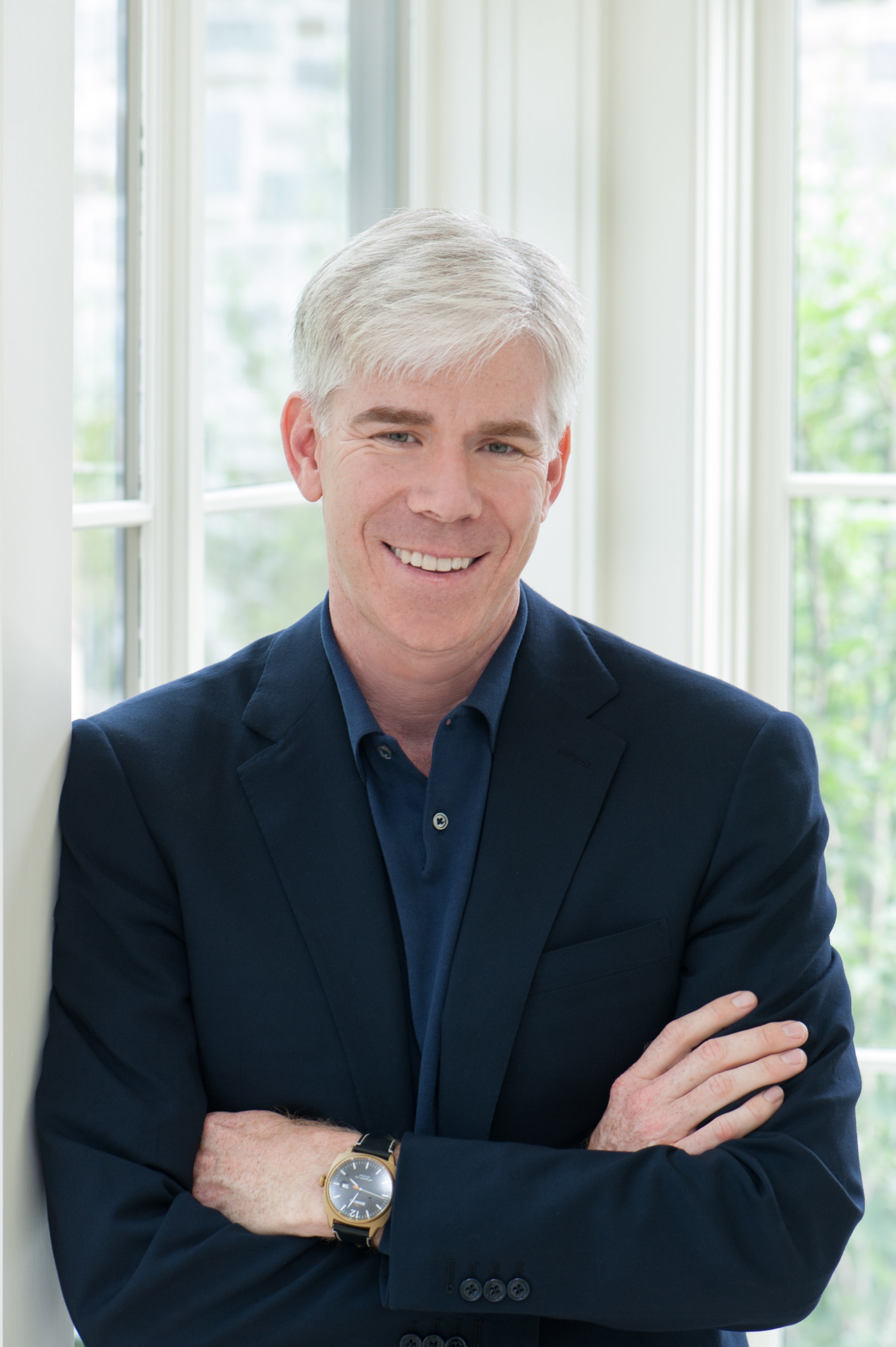 """David Gregory launches his new podcast, """"The David Gregory Show,"""" on April 15, 2016."""