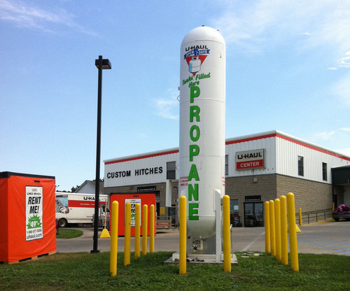U-Haul Moving and Storage of Bismarck Adds Propane with Fast Pay-at-the-Pump Service