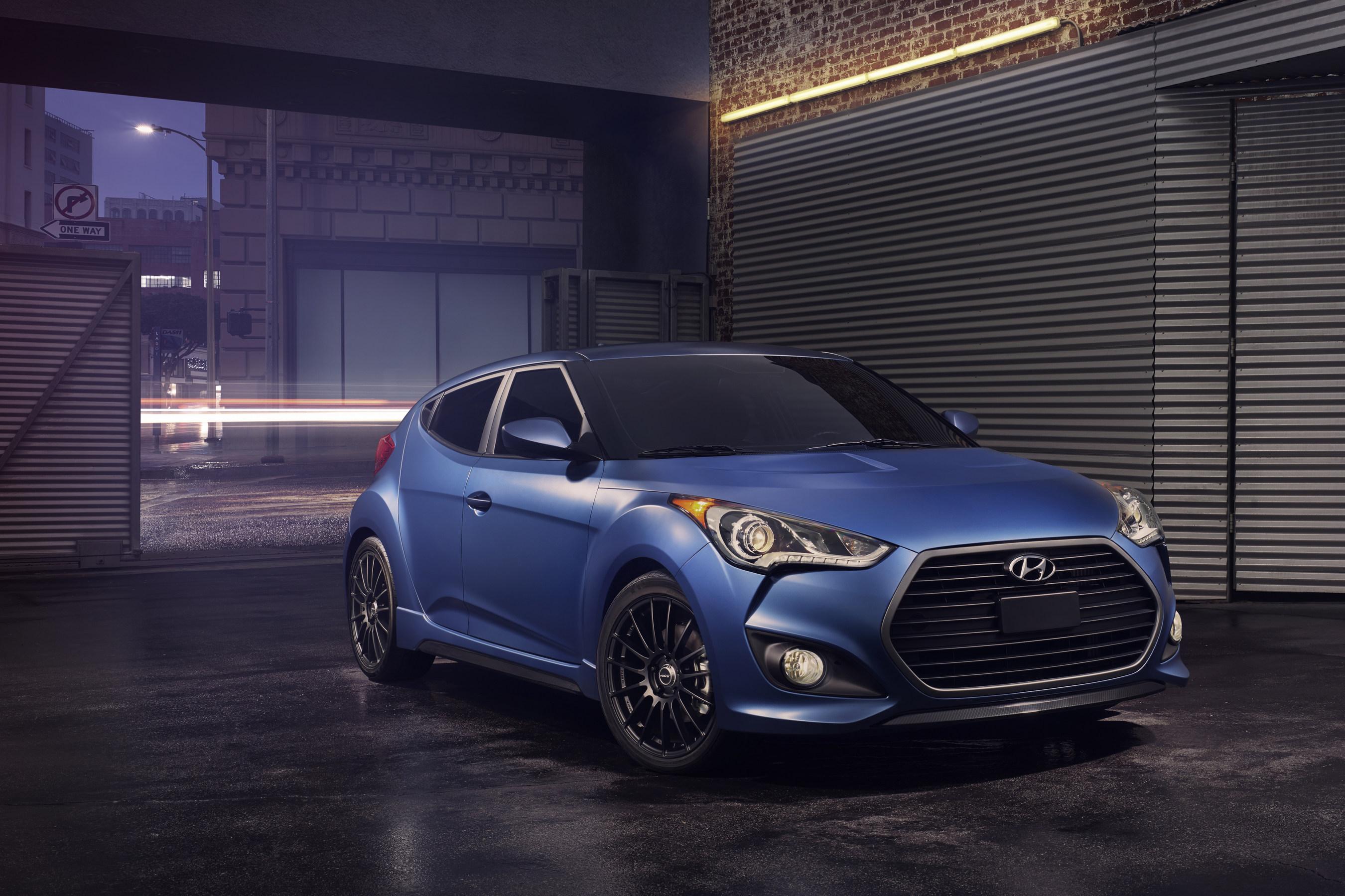 2016 Hyundai Veloster Receives Major Performance Design