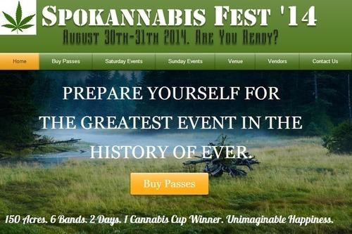 Spokannabis Fest '14 (PRNewsFoto/Spokannabis Fest)