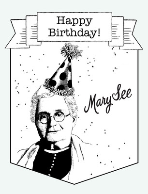 Happy Birthday Mary See!.  (PRNewsFoto/See's Candies)