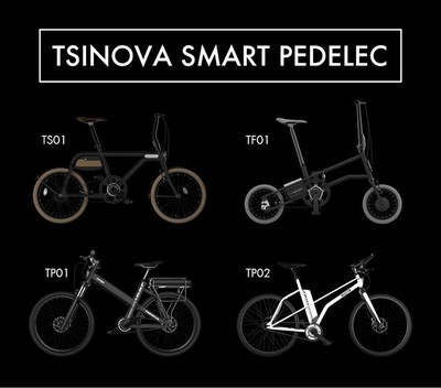 TSINOVA smart pedelec: combing good design with high technology