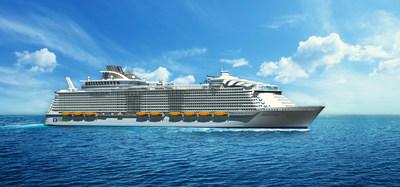 Royal Caribbean's Harmony of the Seas, launching June 2016 (Photo Credit: Royal Caribbean International)