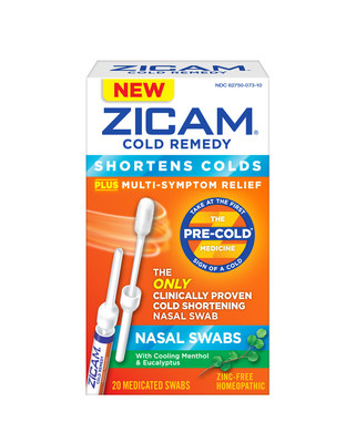 Zicam(R) Cold Remedy Nasal Swabs