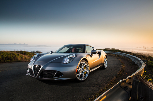 Arriving in Q3, the all-new 2015 Alfa Romeo 4C spearheads the Italian sports car brand's return to North America with an MSRP as low as $53,900 (PRNewsFoto/Chrysler Group LLC)