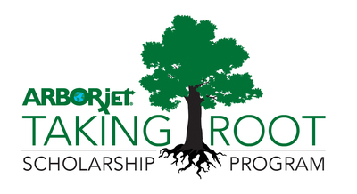 Arborjet Taking Root Scholarship Program Logo (PRNewsFoto/Arborjet)