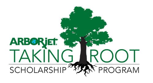 Arborjet Taking Root Scholarship Program Logo (PRNewsFoto/Arborjet)