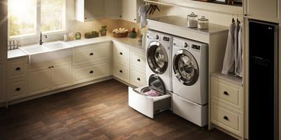 LG TWINWash with SideKick Pedestal Washer