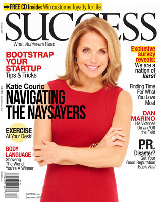 """SUCCESS magazine December 2012 Issue"".  (PRNewsFoto/SUCCESS)"