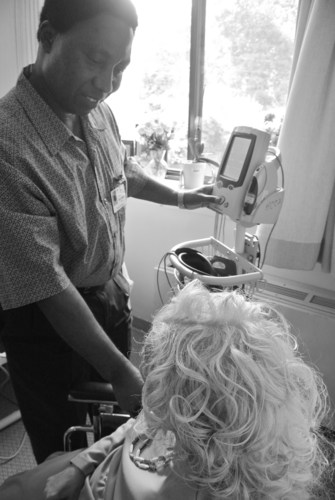 Roland Park Place's Clinical Coordinator, Abu Fofanah was selected as one the nation's top caregivers ...