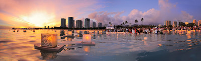 Lantern Floating Hawaii Ceremony is the largest Memorial Day observance. Hosted by Shinnyo-en