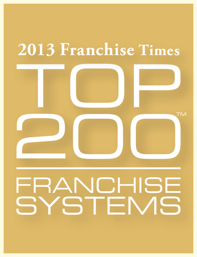 Coverall Named a Franchise Times Top 200 Company for the 14th time.  (PRNewsFoto/Coverall)