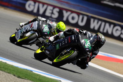 Brammo Takes Second and Third Place at the FIM ePower/TTX Championship.  (PRNewsFoto/Brammo, Inc.)