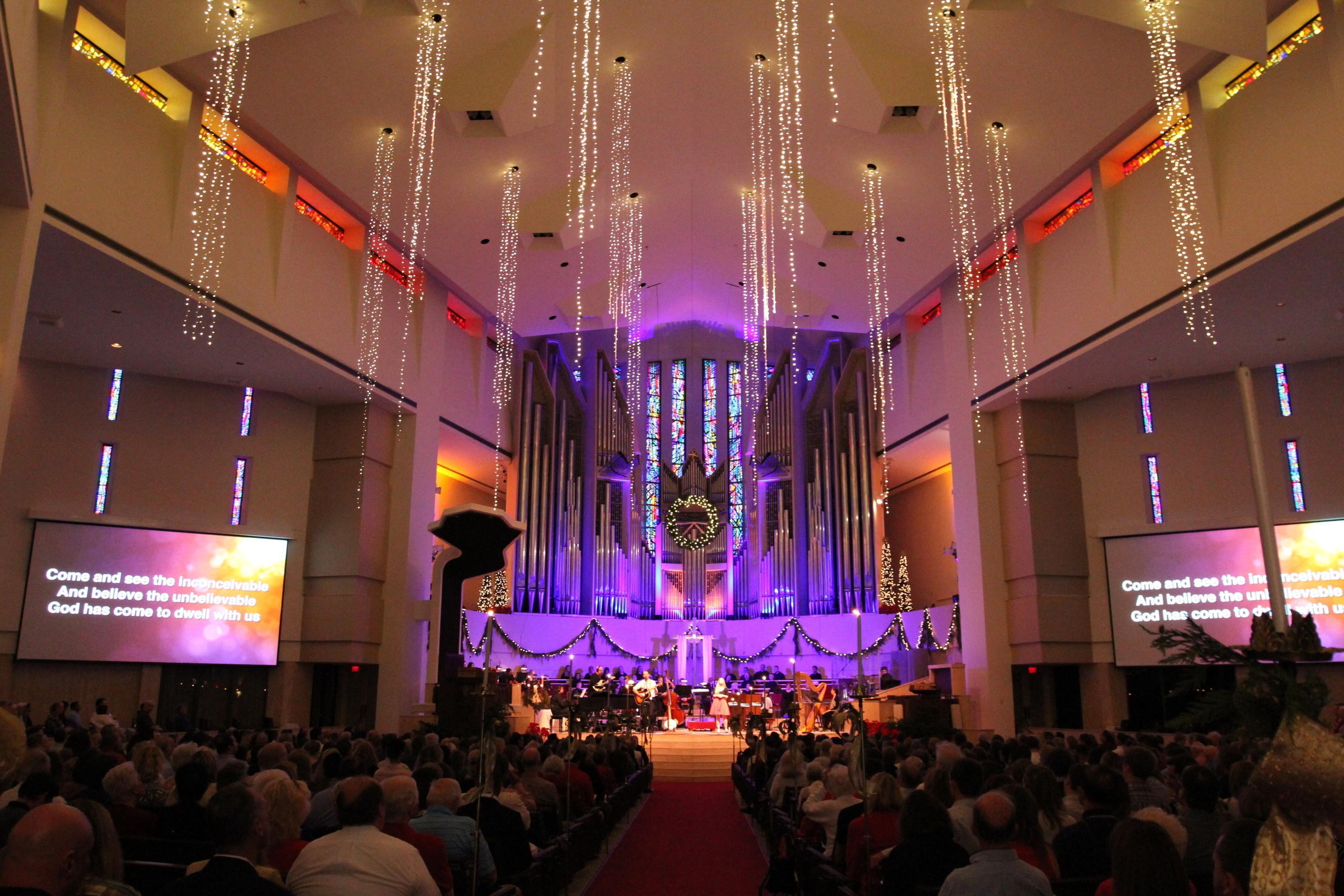 celebrate the christmas season at coral ridge presbyterian church