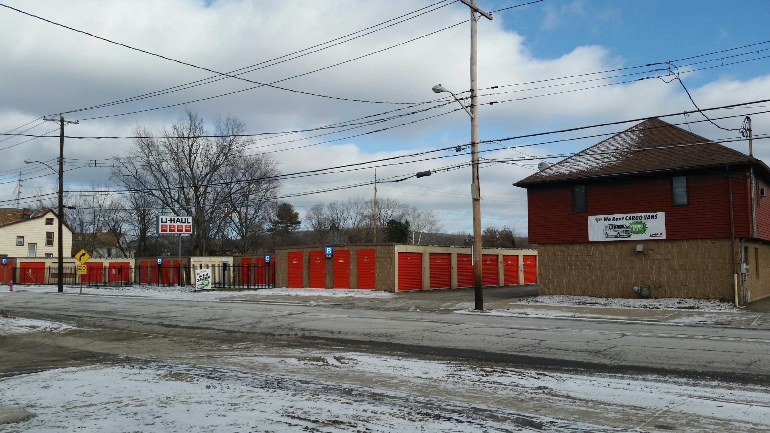 U Haul Is Revamping A Former Storage Center At 262 Front St In Binghamton