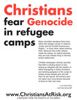 Ad, which ran this week in Roll Call, Politico, and The Hill, highlights Christian fear of genocide in Middle Eastern refugee camps.