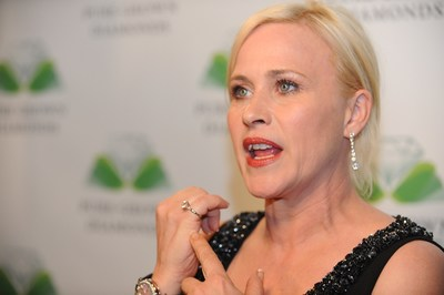 Academy Award Winner Patricia Arquette Previews World's Largest Laboratory-Cultivated Pure Grown Diamond - A 21st Century Marvel of Science.