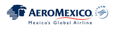 Aeromexico Logo.  (PRNewsFoto/Aeromexico)